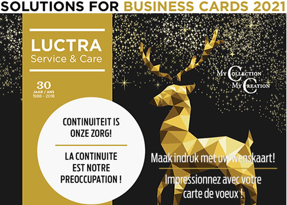 Luctra - Solutons for business cards 2021